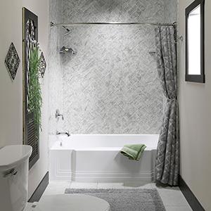 Small Bath Remodel Guest Bathroom Remodeling Luxury Bath