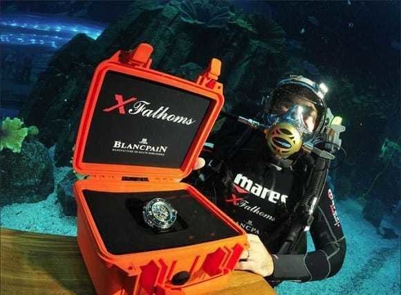 Blancpain's new dive watch: the X Fathoms
