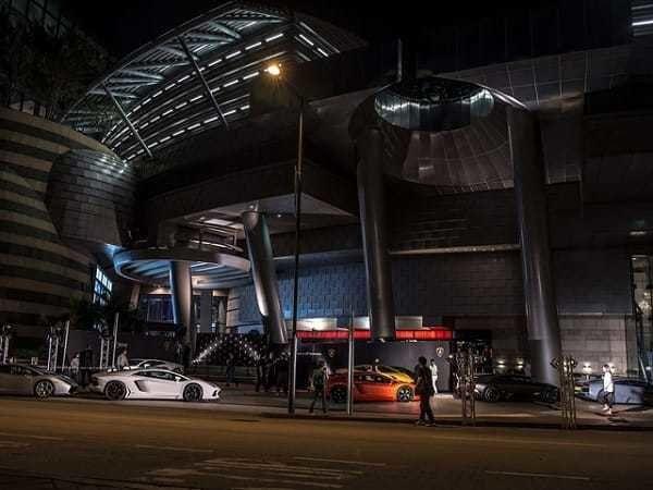 The Lamborghini Gallardo HK20 Edition at the Cyberport Arcade, Hong Kong