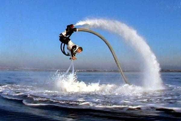 Water Jetpack Experience with Wish.co.uk