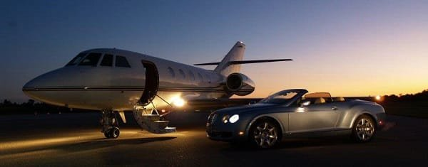 Jet charter services from Exquisite-Voyage.com