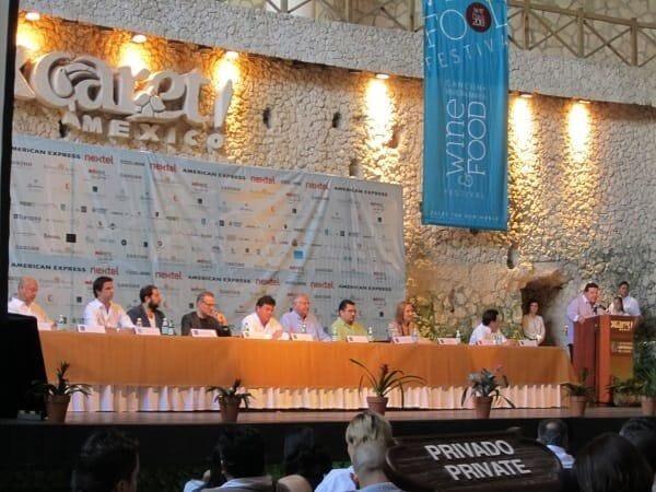 Cancun Riviera-Maya Wine & Food Fest Star Chefs Panel