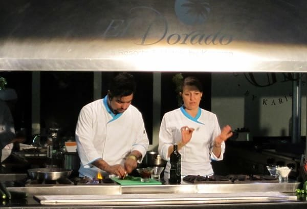 Star Chefs Josefina Santacruz & Aaron Sanchez