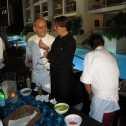 Chefs Guy Santoro and Josefina Santacruz