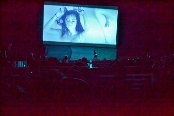 Spring Breakers screening at the Papaya Playa Project