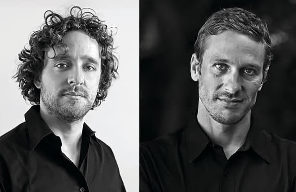 Blades of the Gods Founders Thomas Samson and Bernhard Leiner