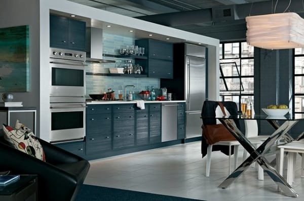 GE Monogram Kitchen Loft Design