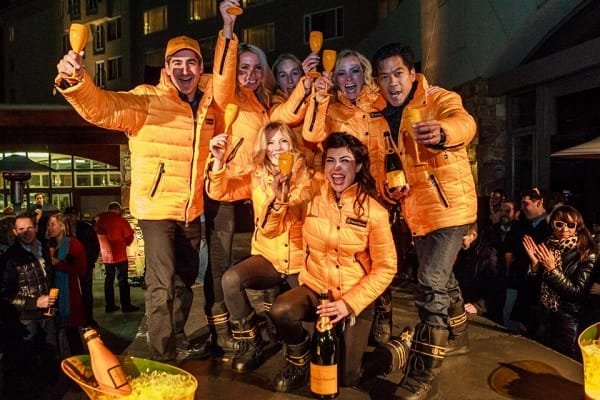 Veuve Clicquot in the Snow Event