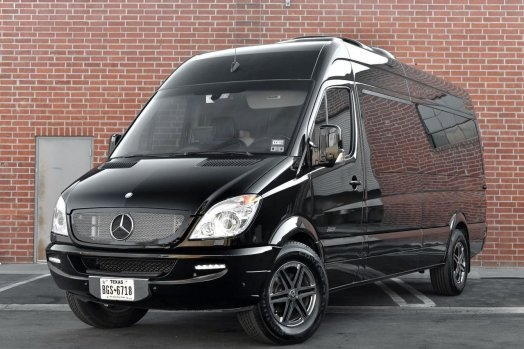 tricked out mercedes