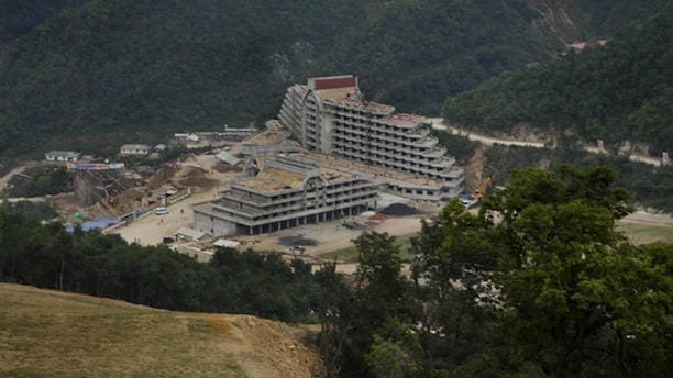 north korea ski resort Masik Pass
