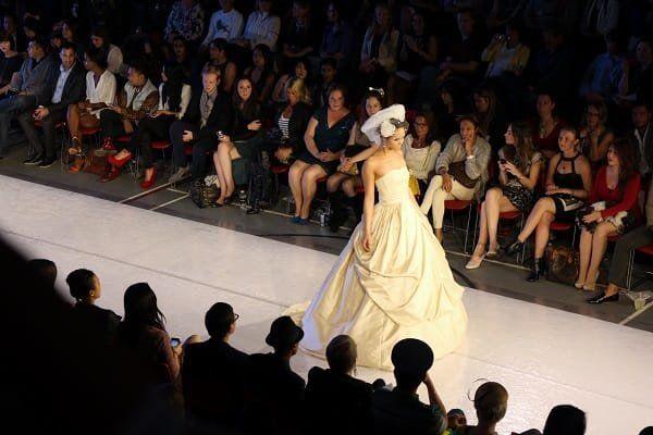 Wedding Dress at Vancouver Fashion Week