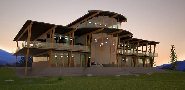 Area 27 clubhouse rendering