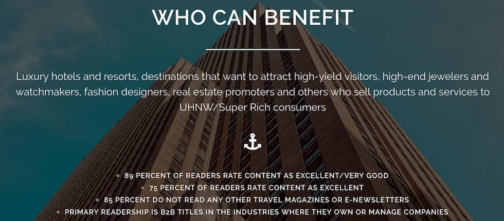 uhnw marketing selling super rich