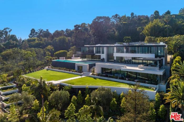 bel air mansion million month rental 2