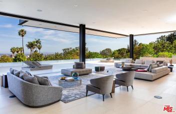 bel air mansion million month rental 6