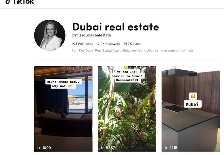 luxury real estate tiktok marketing