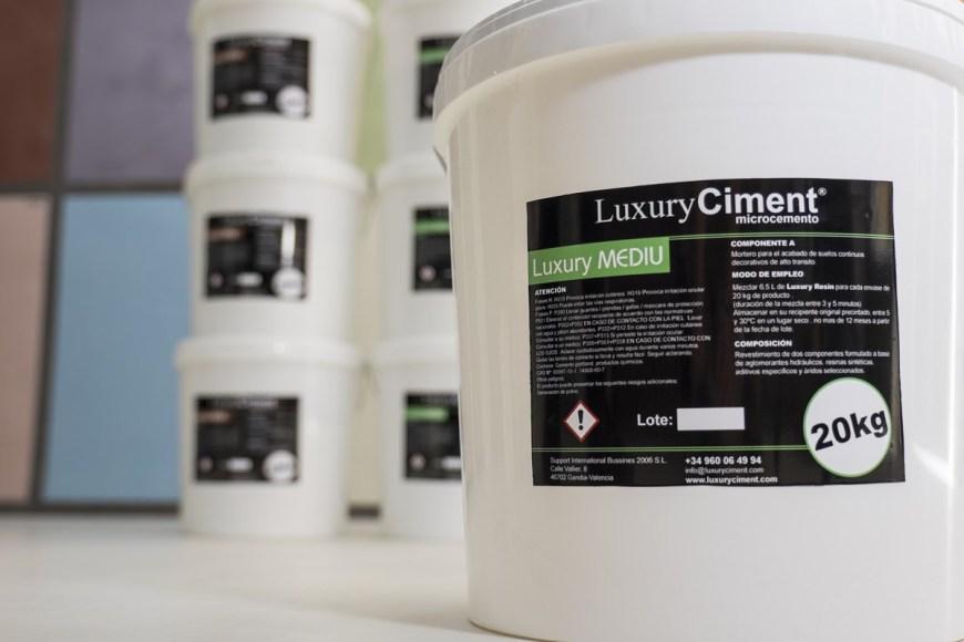 Microcemento Mediu Luxury Ciment para suelos
