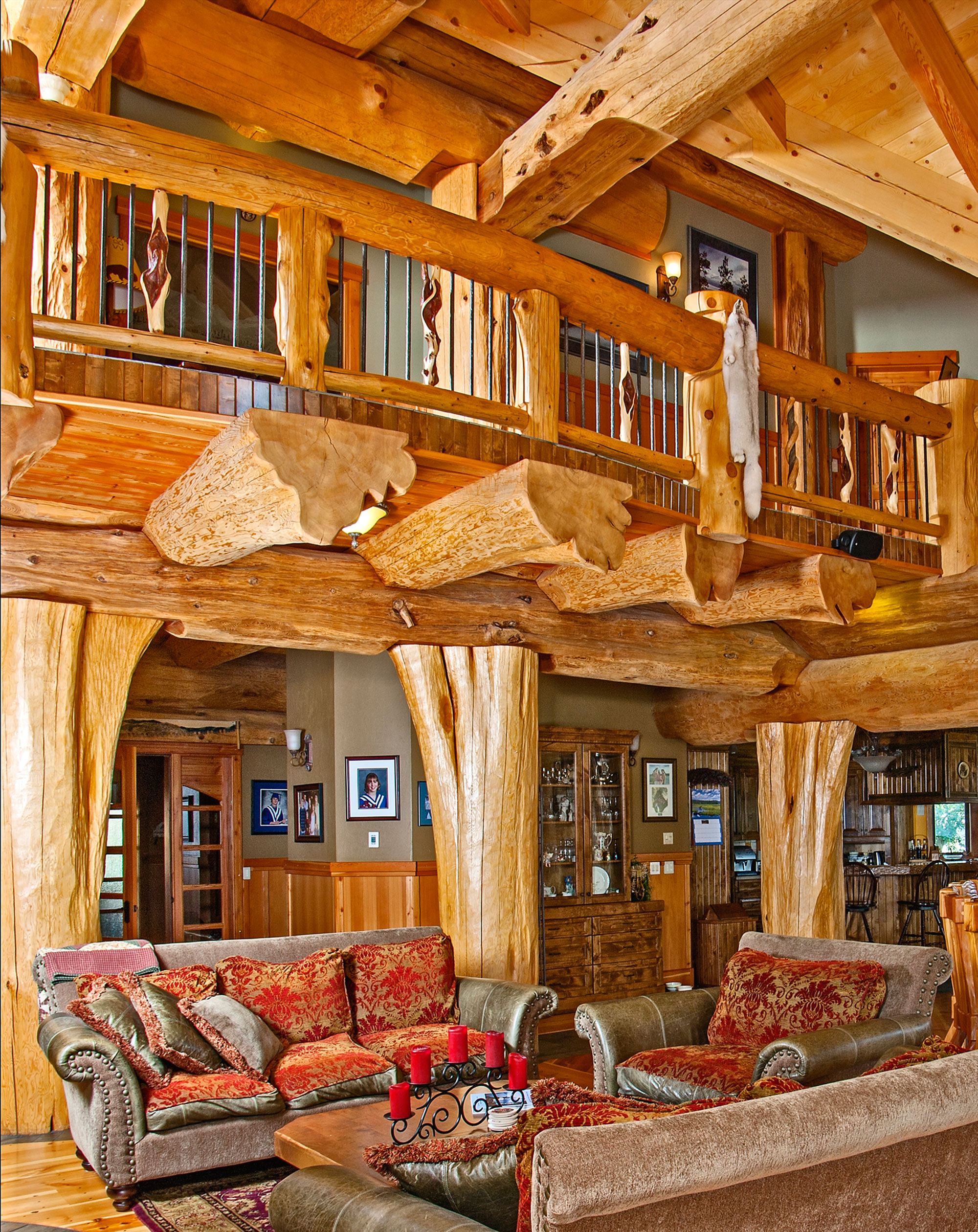 Timber Kings Log Home Masterpiece