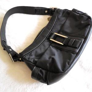 Furla Black Hobo Bag