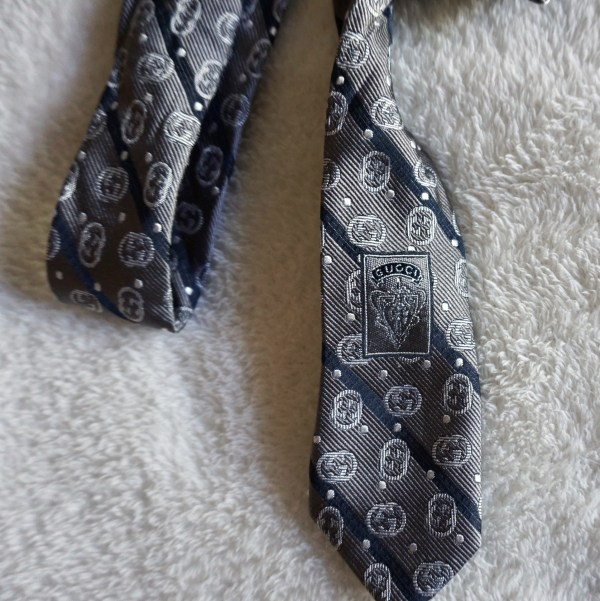 Gucci Signature GG Neck Tie-2