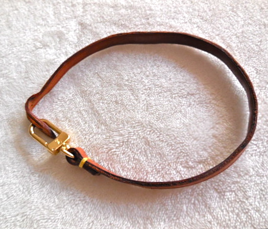 Louis Vuitton Cow Leather Pochette Strap