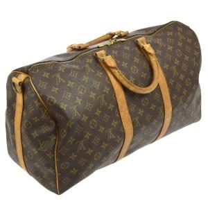Louis Vuitton Monogram Keepall 50 Duffel Bag