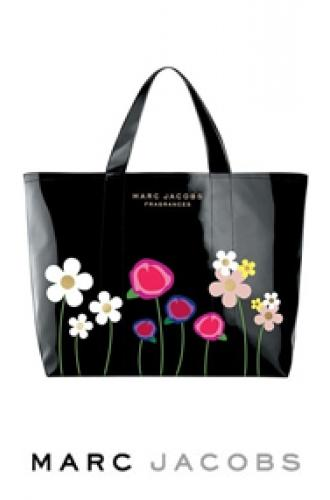 95c4eb9274117 Marc By Marc Jacobs Lola Flower Black Tote - Luxurylana Boutique