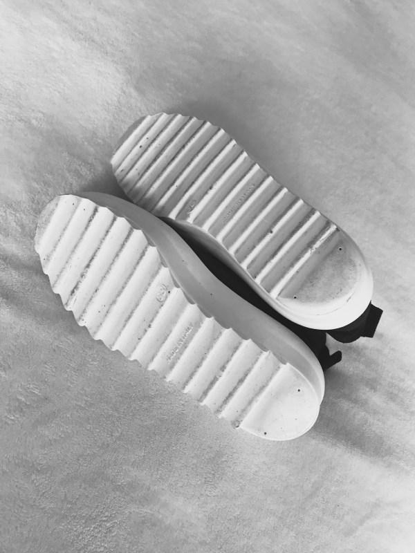 Shellys London Black Suede Murci-Platform Sneakers-4