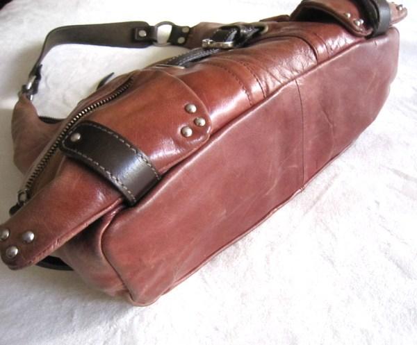 Tano Leather Hobo Bag-2
