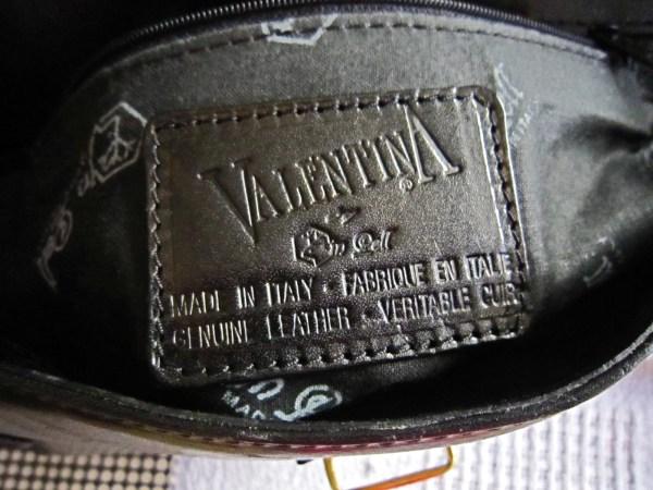 Valentina Black Leather Shoulder Bag-4