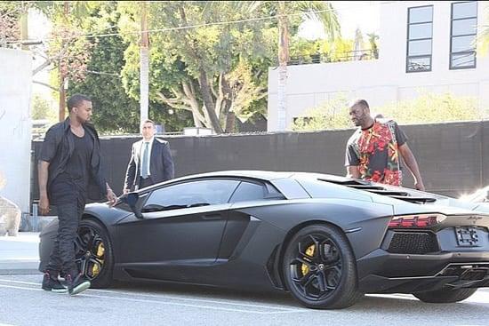 Kim Kardashian Gifts Kanye West A Lamborghini Aventador