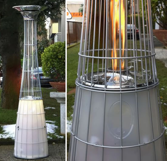 Natural Gas Outdoor Heater