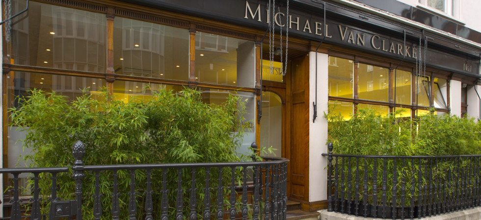Michael Van Clarke Hair Salon, Marylebone