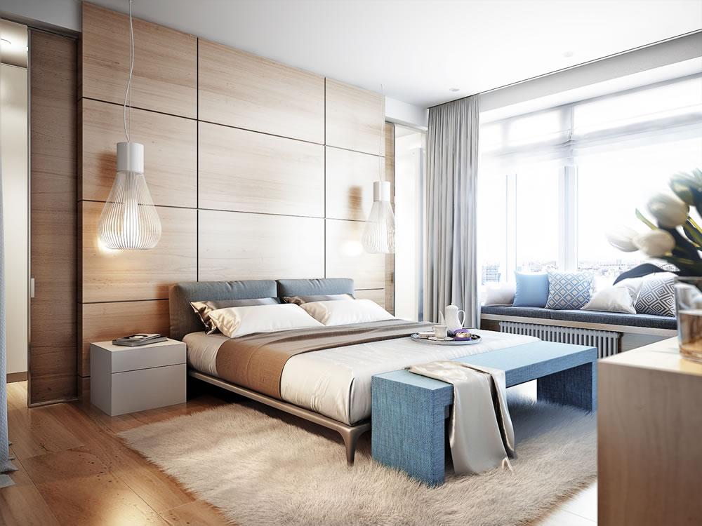 bedroom cladding