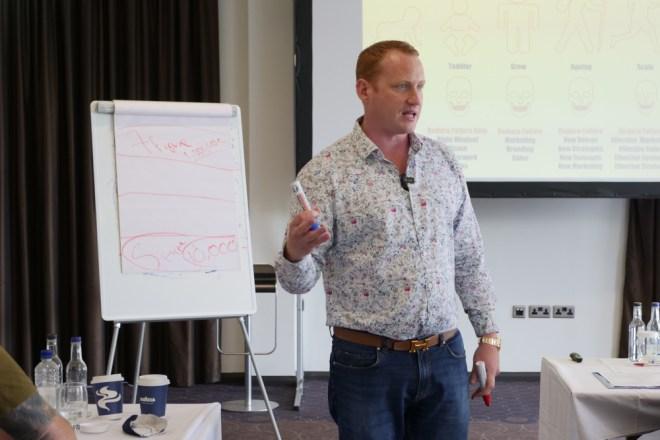 Adam Stott in lecture