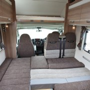 Swift Escape 696 6 Berth - Beds