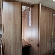 Swift Escape 696 6 Berth - Wardrobe
