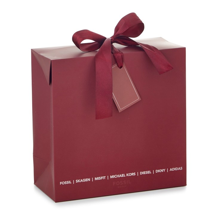 Luxury Printed Gift Boxes with decorative ribbon.