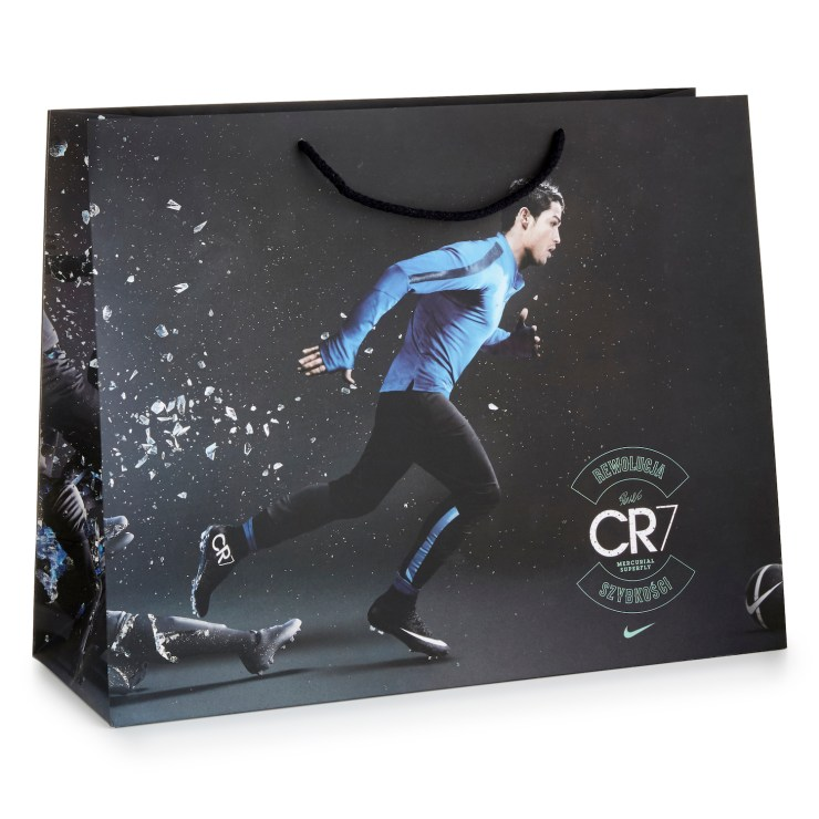 Luxury Laminated Paper Bag with rope handle.