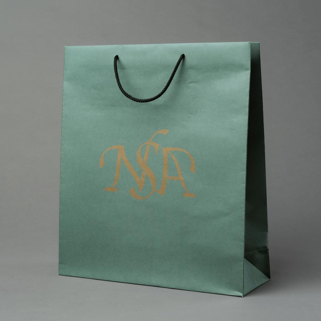 Rope-Handle-170gsm Offset-Paper-Unlaminated Paper Bag