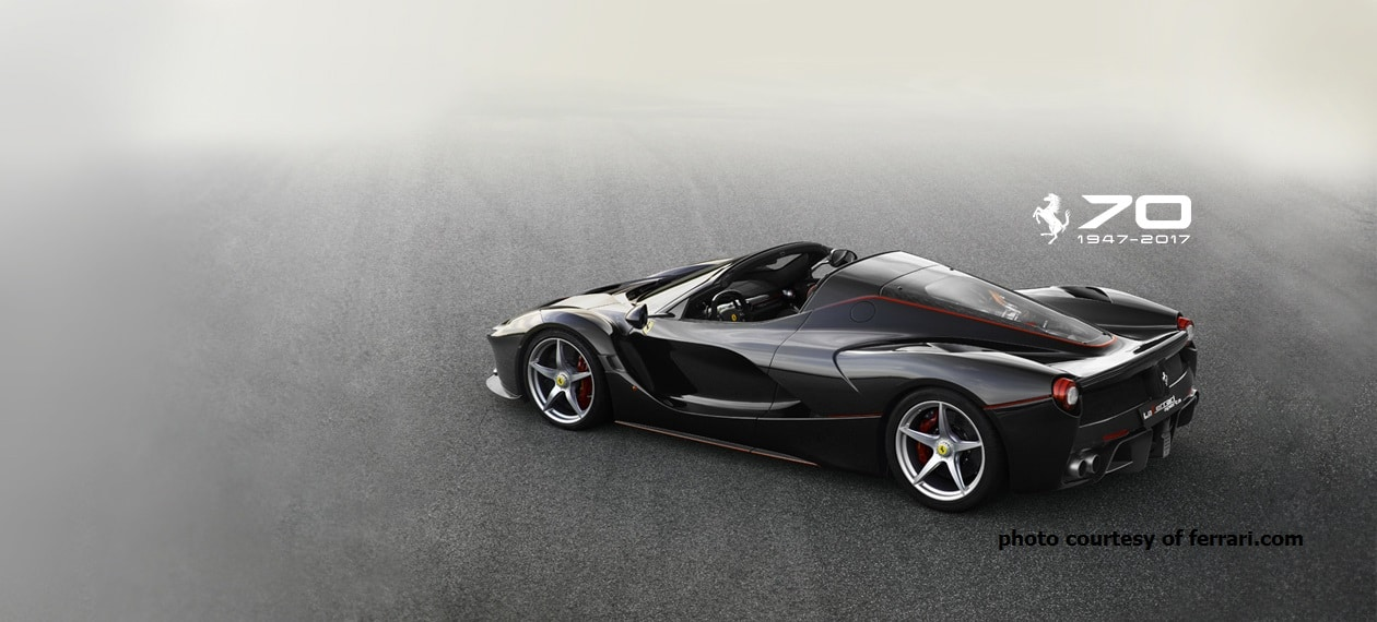 Ferrari Laferrari Aperta Rental Luxury Sport Car Hire