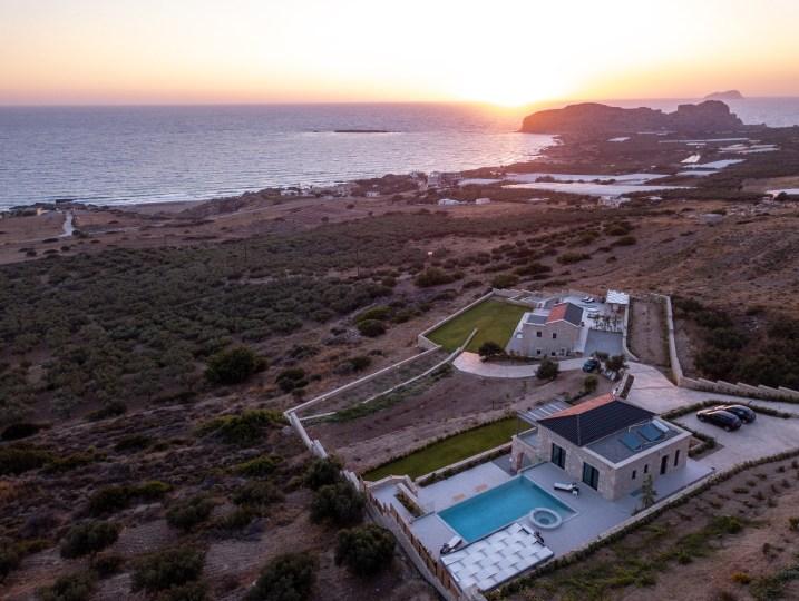 luxury villa in Falasarna