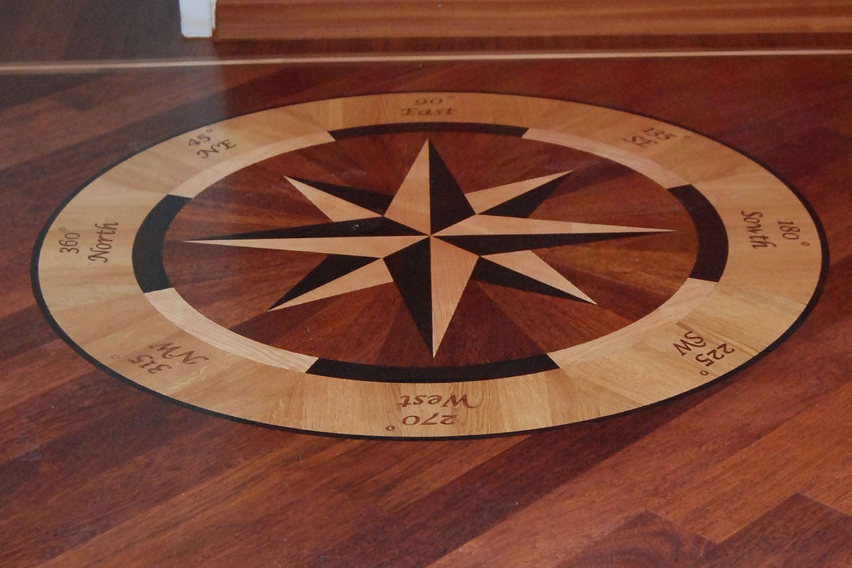 Solid Wood Floor Medallions Bespoke Wood Flooring