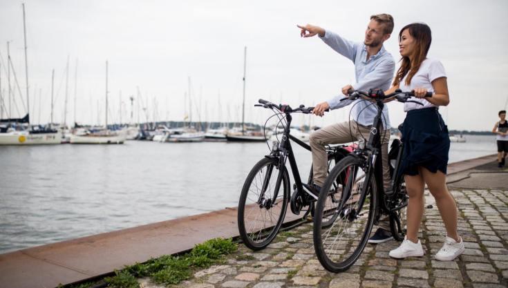 Stralsund mit Rad erkunden