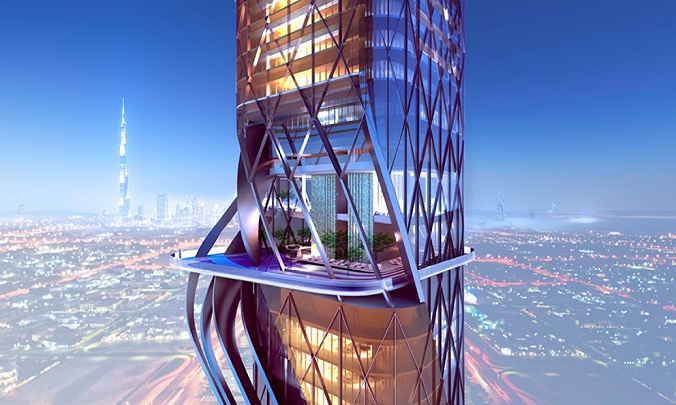 Meet The Stunning Architecture Of Dubais Hotel And Tower