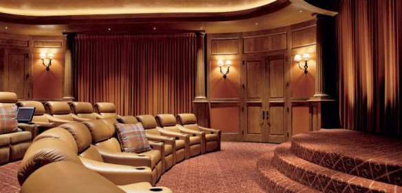 Home Theater Designs for a Movie Night