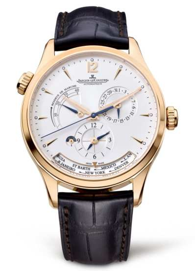 montre Jaeger Lecoultre Master Geographic luxe