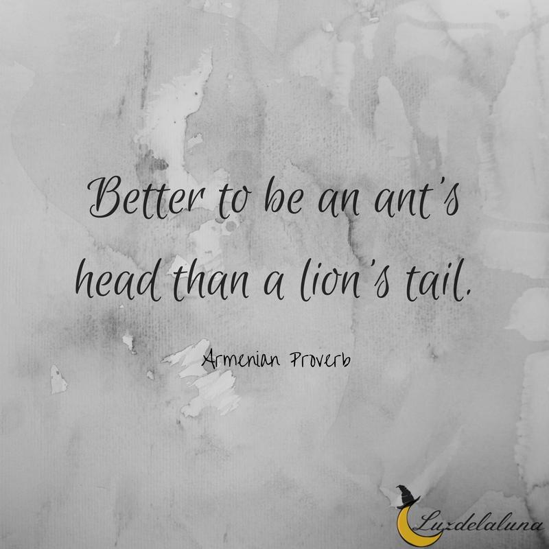 Armenian Proverb