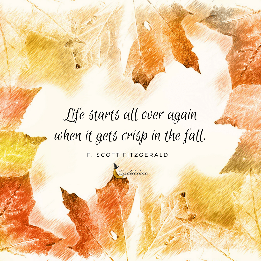 F Scott Fitzgerald Love Quote 20 Beautiful Autumn Quotes That Will Make You Fall In Love With