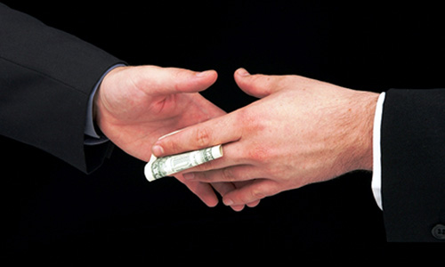 Sexual bribery definition